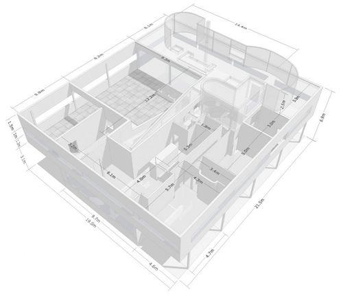 Villa-savoye-dimensions